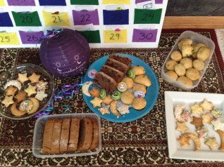 We made extra treats to share with our family that night for iftaar (breaking of the fast)