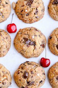 Paleo-Cherry-Almond-Chocolate-Chunk-Cookies-5-491x740