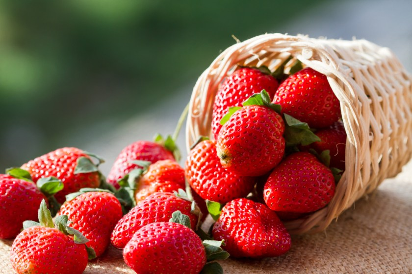 strawberries - 7 Spring Fruits & Vegetables
