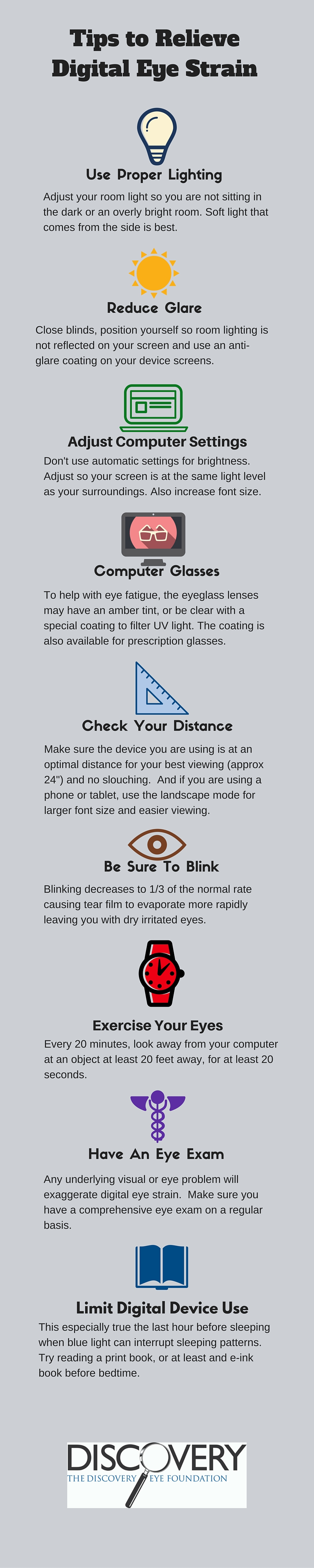 9 tips to relieve digital eye strain