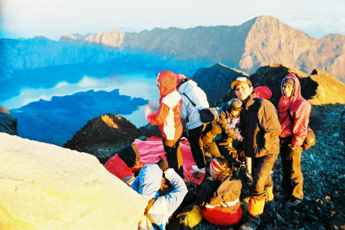 top of rinjani