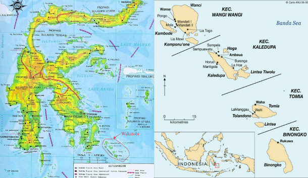 Buton Island Map