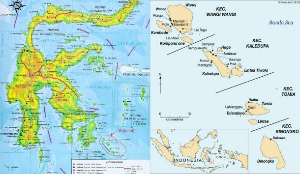 wakatobi map