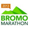 Bromo Marathon Logo White