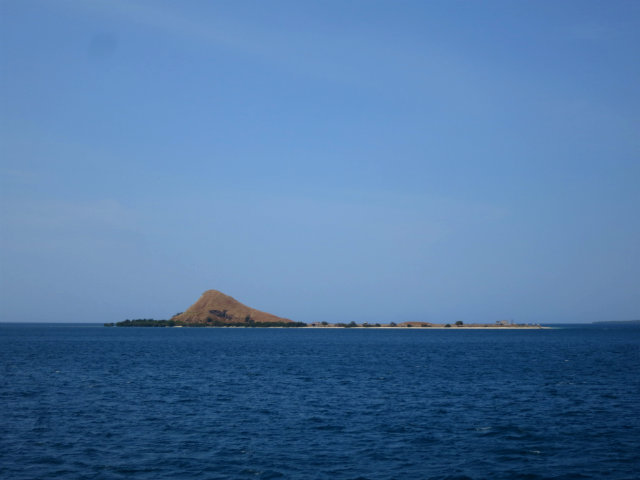 kenawa island from far