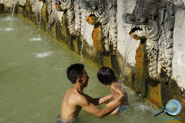 hot spring in bali