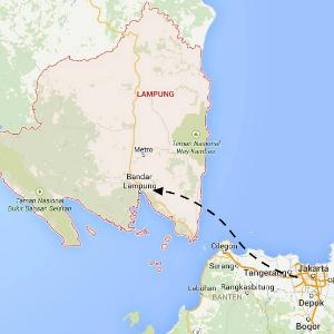 map Lampung