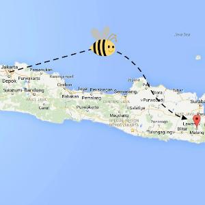 map Malang