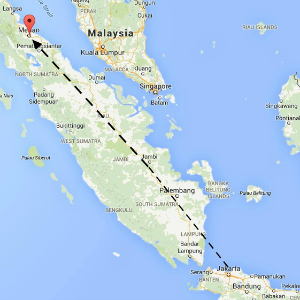 map Medan
