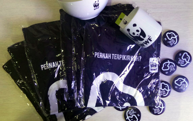merchandise from WWF Indonesia