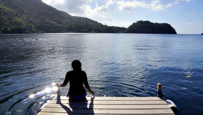 Neira island Indonesia
