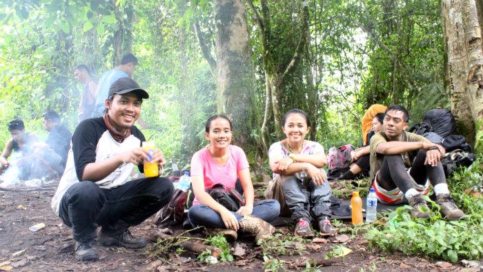 shelter 1 tambora volcano