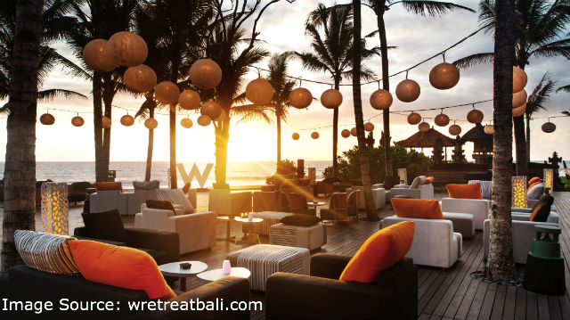 Catching the sunset at Woo Bar in Bali is one of the best ways to end the day.