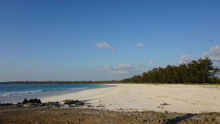 Oetebu beach Semau