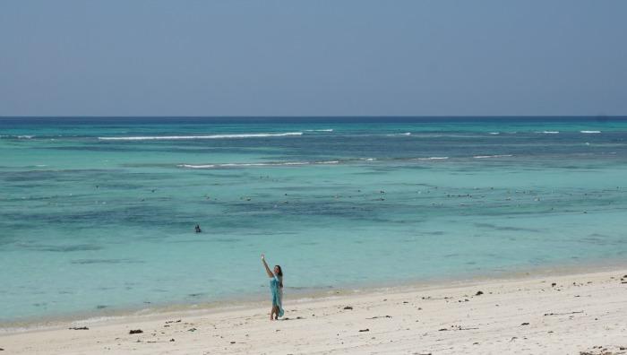 Otan beach Semau island
