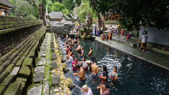 Tirta Empul Temple Bathing Ponds