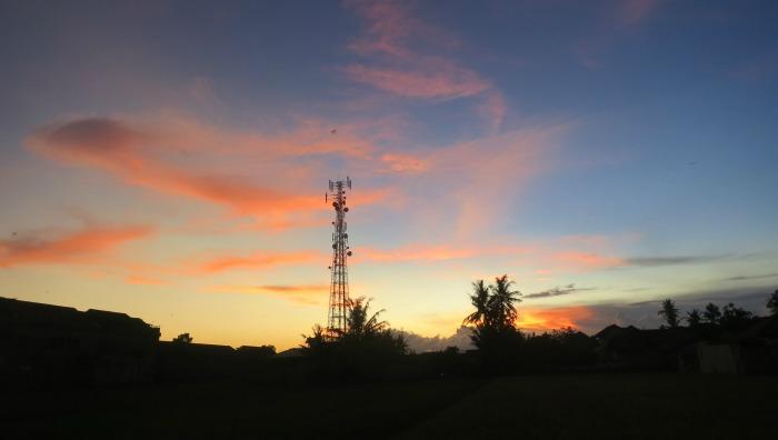 the north part of Yogyakarta