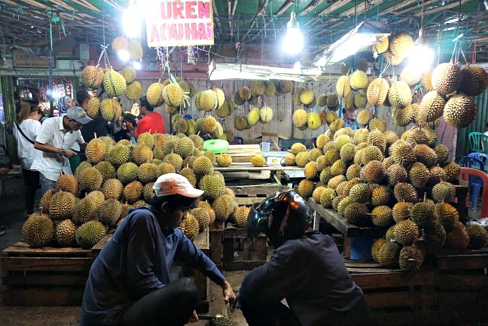 Durian Party in Palembang