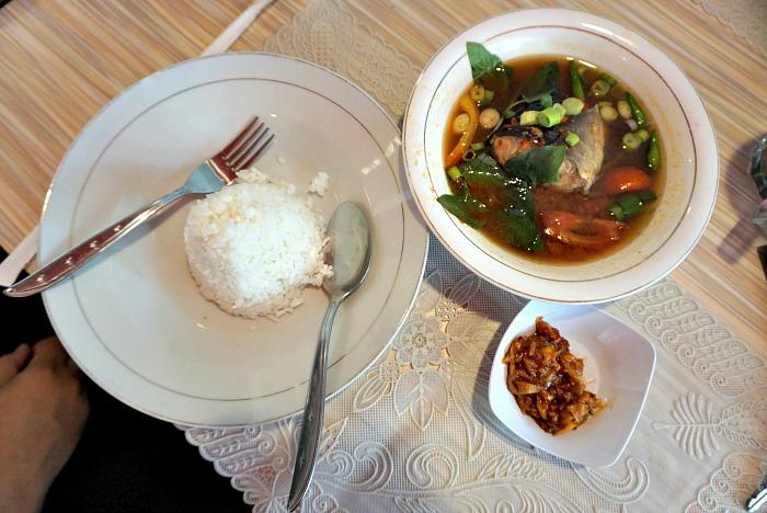 Pindang with Sambal