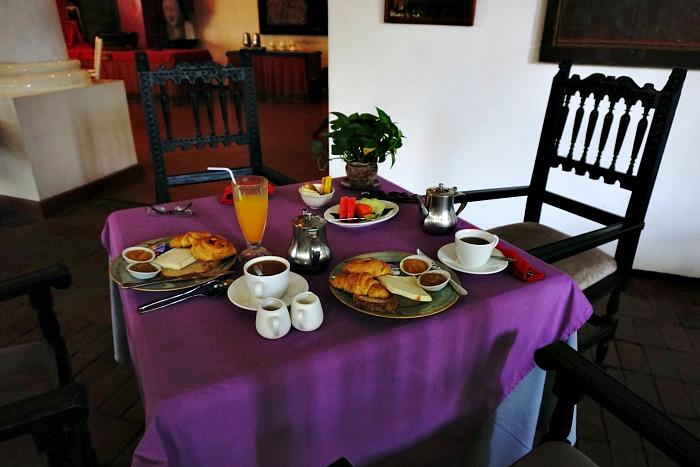 Breakfast at Tugu Hotel Blitar