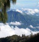 Climbing down Mount Agung, Views from Mount Agung