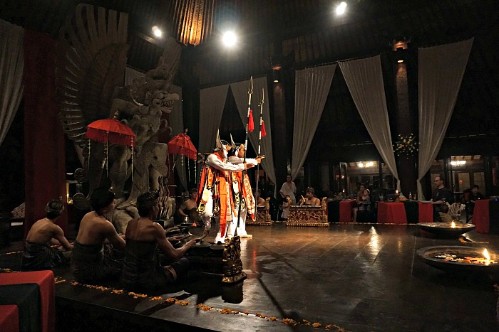 Cultural evening and dining at Tugu Canggu