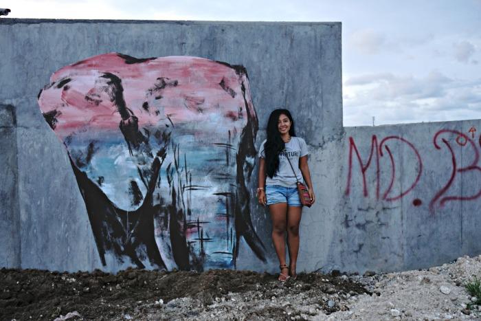 Murals in Canggu area