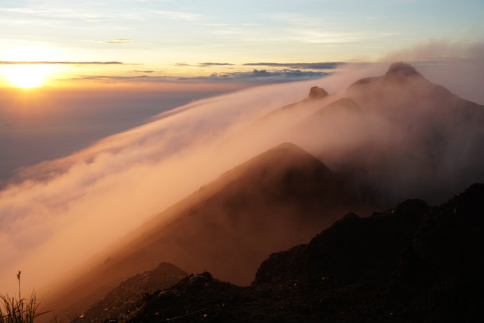 Peak 3 Mount Agung, Sunrise Mount Agung