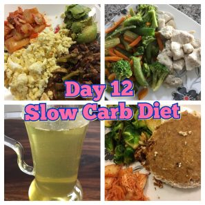 Day 12 Slow Carb Diet