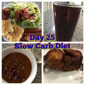 Day 25 Slow Carb Diet