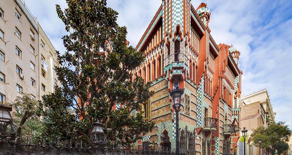 Casa Vicens di Gaudì