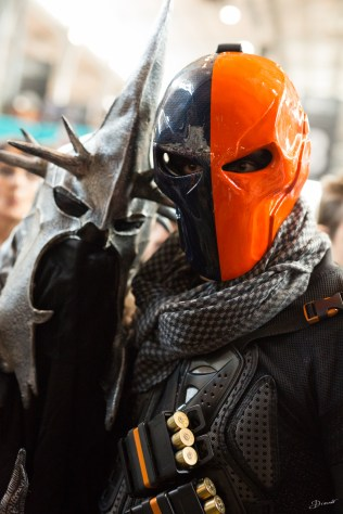 Sauron et Deathstroke