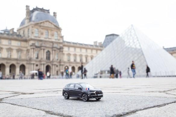 DS7 Crossback presidentiel au Louvre