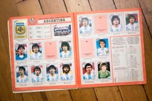 Album Panini Mexico 86 - Équipe d'Argentine