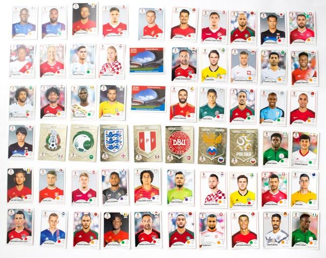 Panini Coupe de Monde 2018