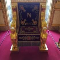 Trône de Napoléon 1er