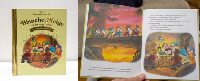 Petit livre d'Or Blanche Neige et les 7 nains