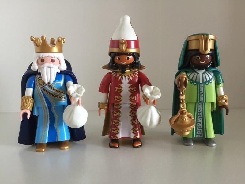 Reyes magos en navidad