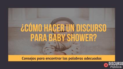 Discurso de Baby Shower: Palabras para la fiesta premamá