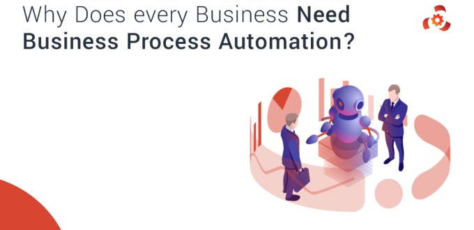 Why Does Every Business Need Business Process Automation?