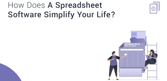 How Does A Spreadsheet Software Simplify Your Life?