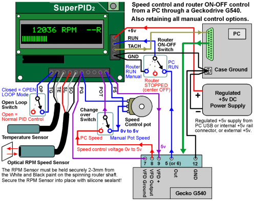 small resolution of superpid v2 gecko g540 all wiring connections png1048x824 76 8 kb