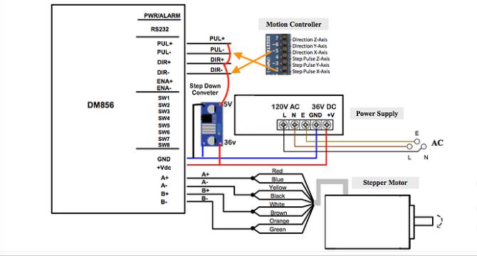 diagram 4 wire stepper wiring diagram full version hd