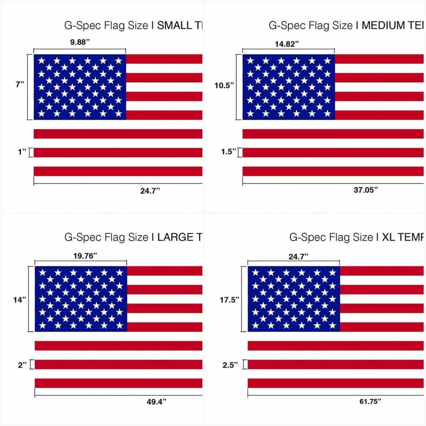 What Are The Dimensions Of The American Flag