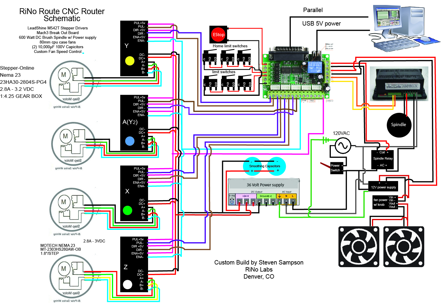 arduino wiring diagram 2 lights double switch please help tb6600 upgrades inventables