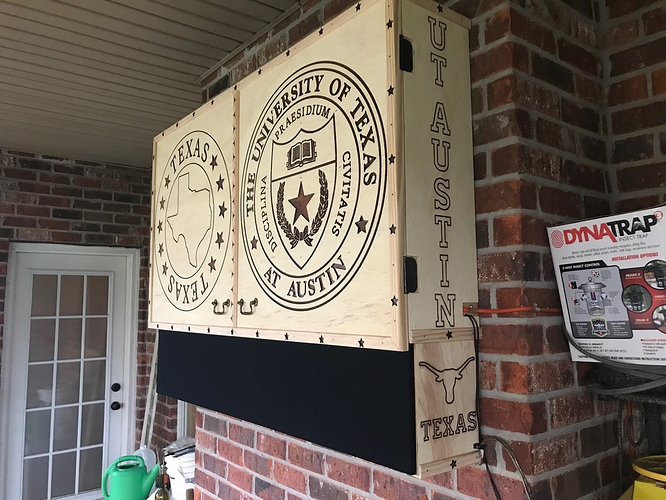 patio tv cabinet projects