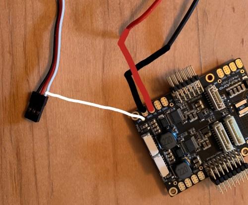 small resolution of pixhawk 4 esc wiring setup