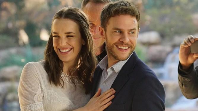 Elizabeth Henstridge & Iain De Caestecker as FitzSimmons getting married in season 5 of Marvel's Agents of S.H.I.E.L.D.