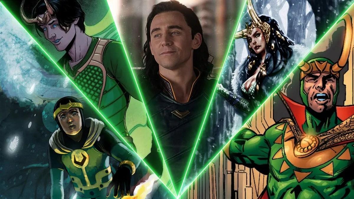 The Lokis Explained - Classic Loki, Lady Loki, and More | DiscussingFilm