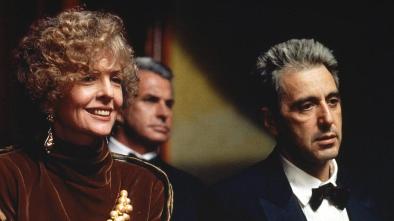 Bridget Fonda and Al Pacino in Francis Ford Coppola's new cut The Godfather Coda.